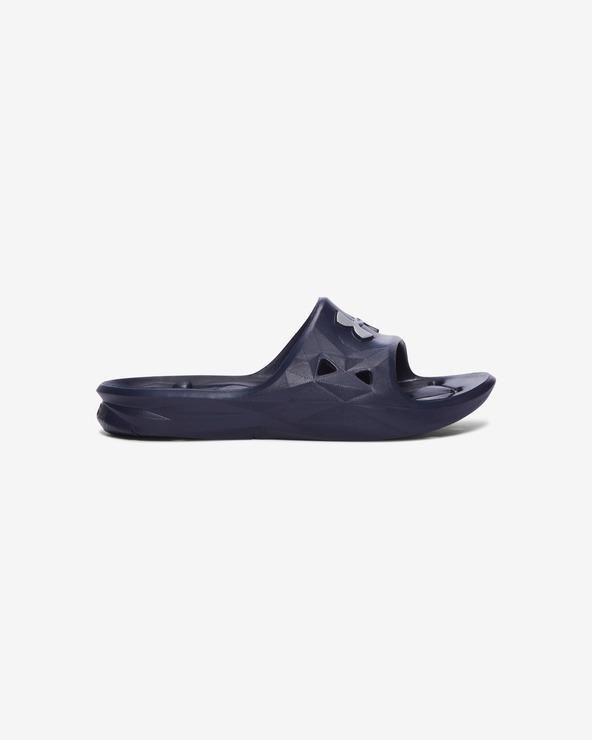 Under Armour Locker III Kids slippers Blau