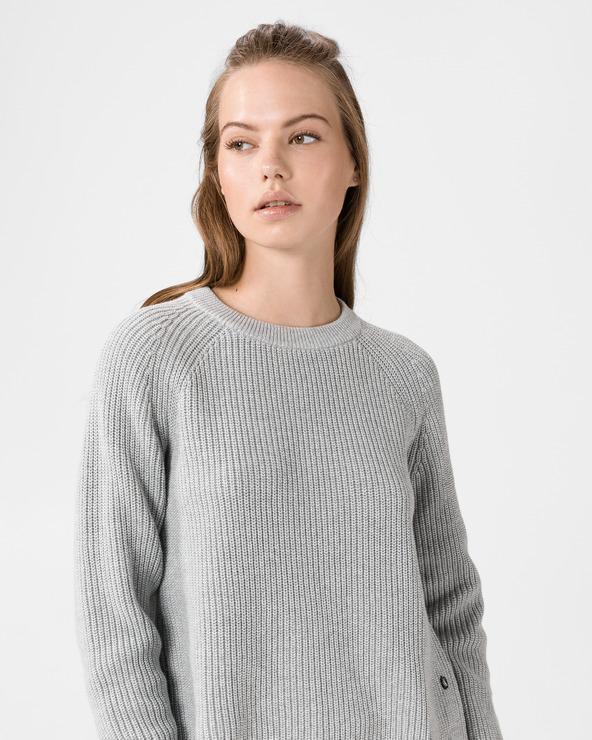Calvin Klein Cross Over Back Pullover Grau