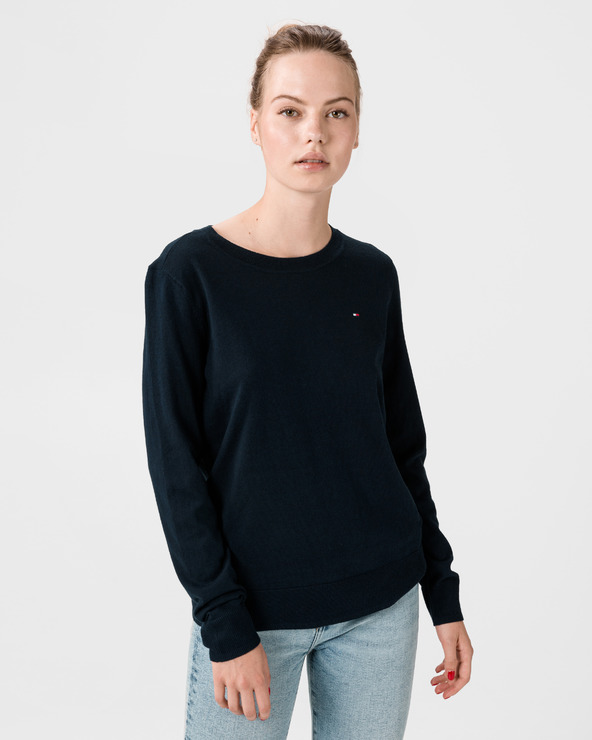 Tommy Hilfiger Pure Pullover Blau
