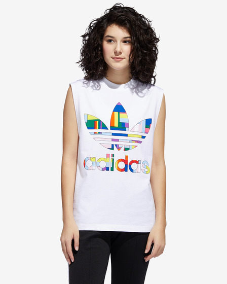 adidas Originals Pride Flag Fill Tílko