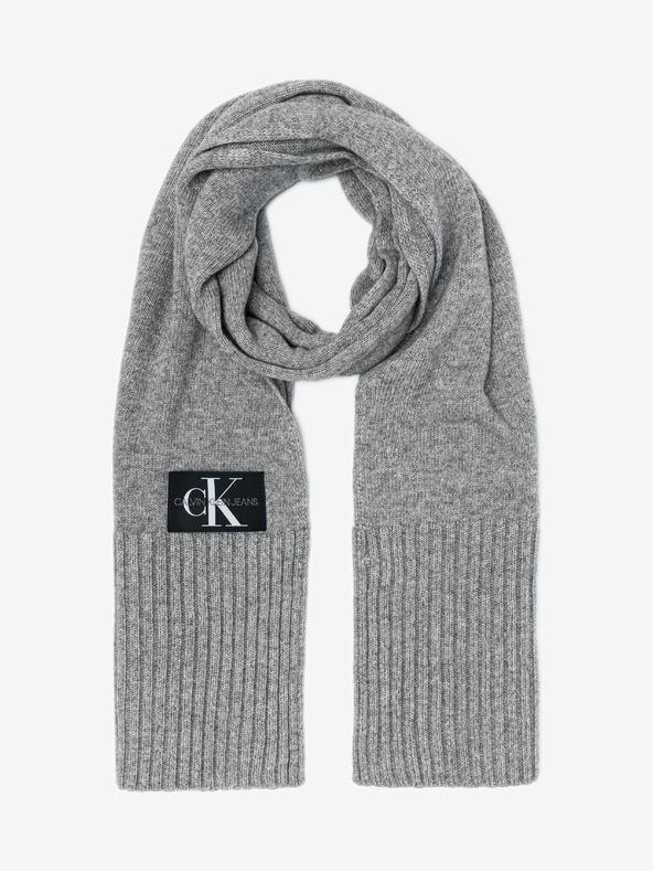 Calvin Klein Schal Grau