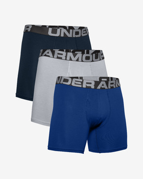 "Under Armour Charged Cotton® 6"" Boxerky 3 ks"