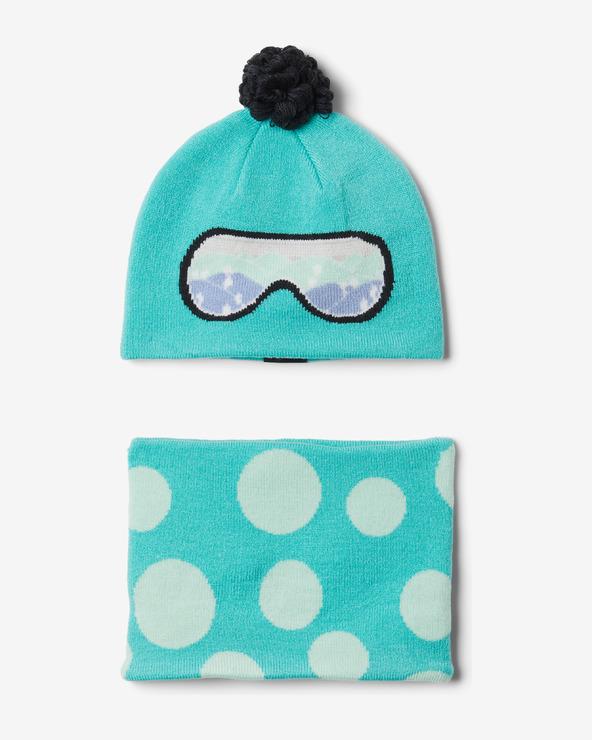 Columbia Toddler Snow More™ Set Kinder Blau Grün