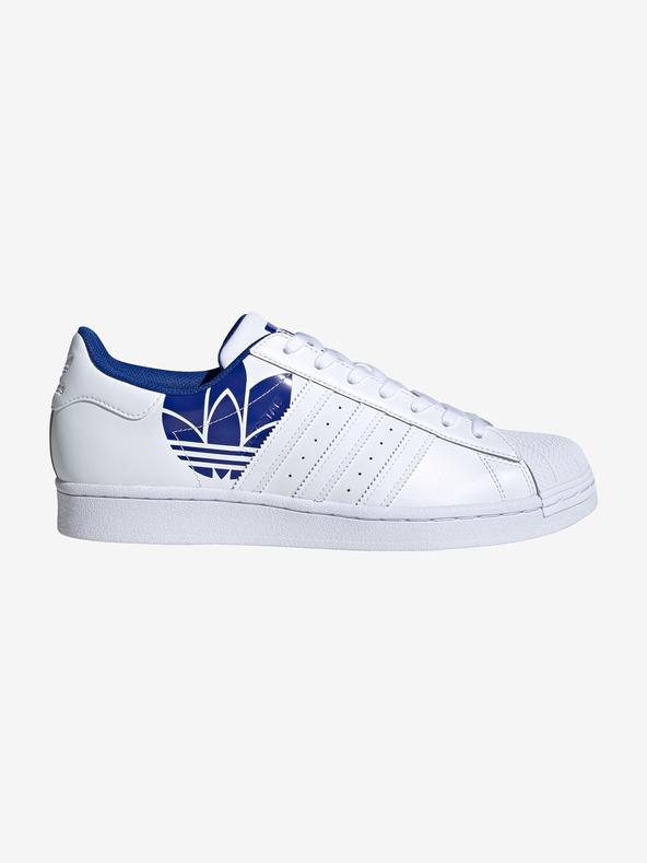 adidas Originals Superstar Tennisschuhe Blau Weiß