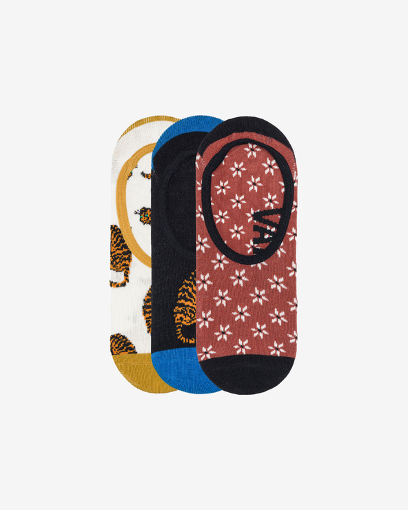 Vans Tiger Floral Canoodle 3 Paar Socken mehrfarben