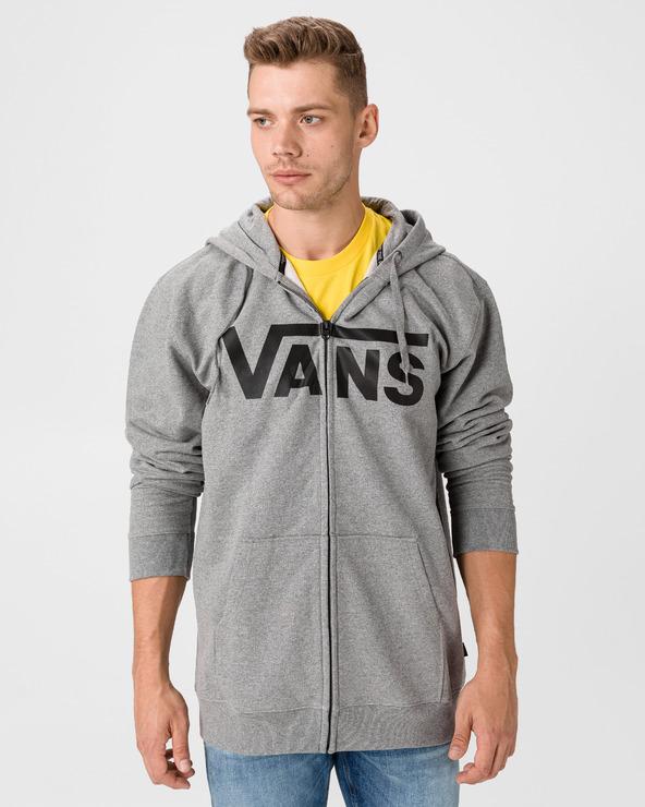 Vans Classic Zip Sweatshirt Grau