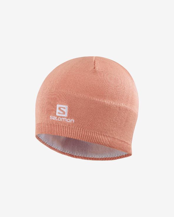 Salomon Mütze Rosa Beige Orange