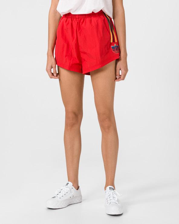 adidas Originals Adicolor 3D Trefoil Shorts Rot