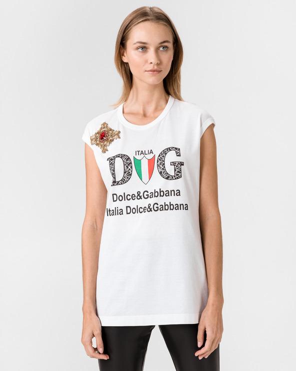 Dolce & Gabbana Unterhemd Weiß