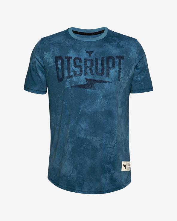 Under Armour Project Rock Disrupt T-Shirt Blau