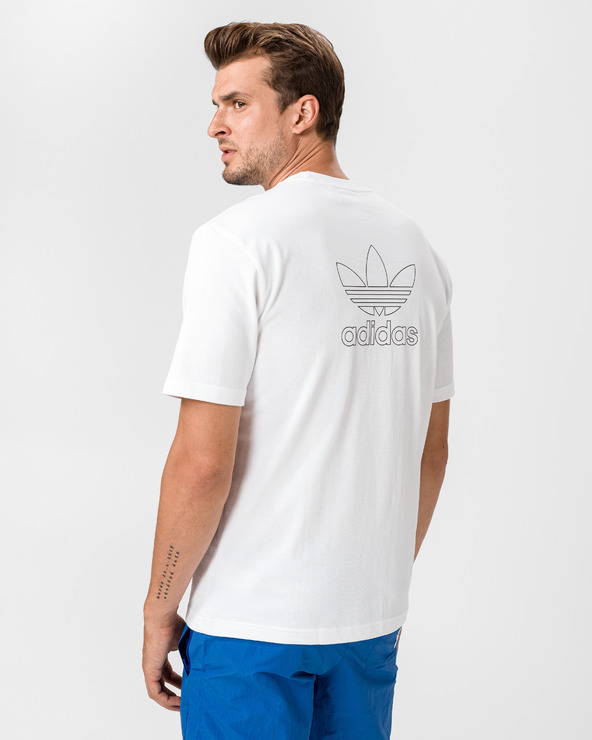 adidas Originals B+F Trefoil T-Shirt Weiß