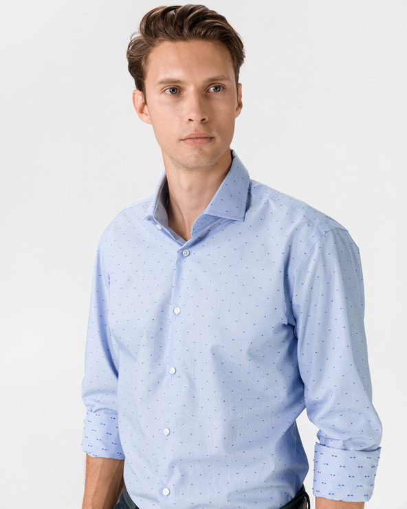 BOSS Gordon Hemd Blau
