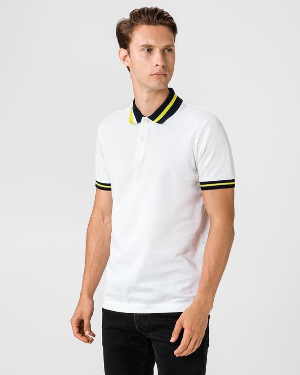 BOSS Parlay 82 Polo tricou Alb