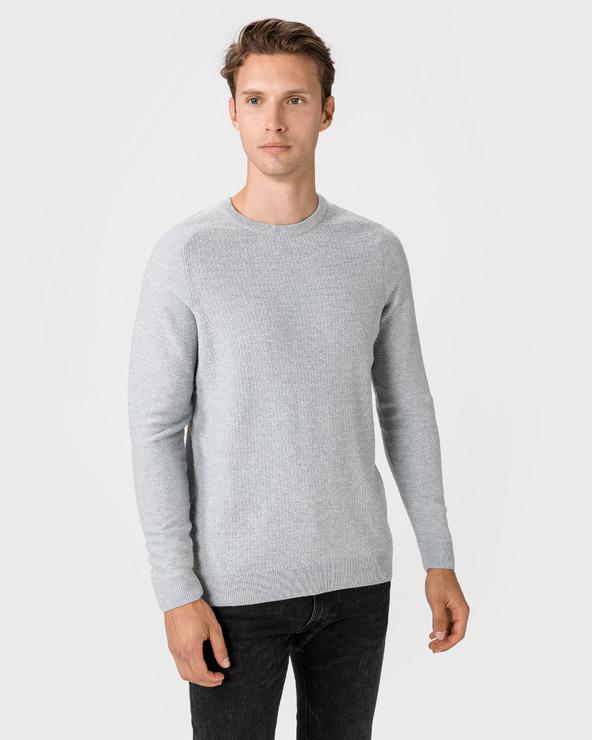 Jack & Jones Blaadam Pullover Grau
