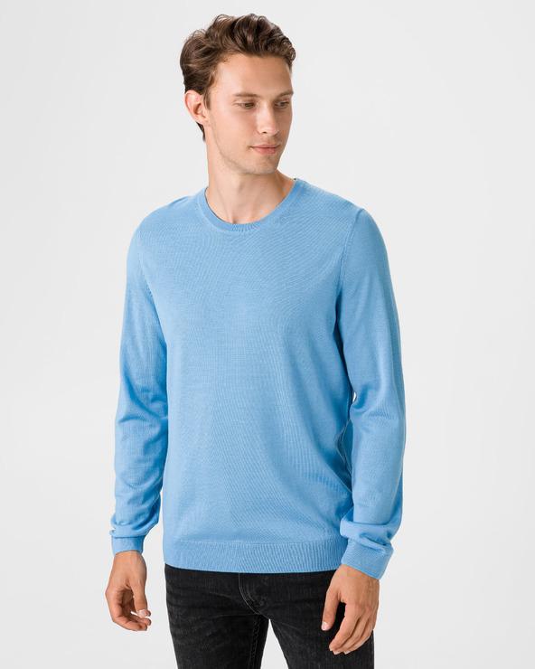 BOSS Leno Pullover Blau