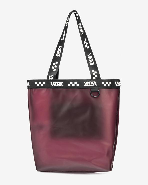 Vans Crosstown Logo Tasche Schwarz Rosa