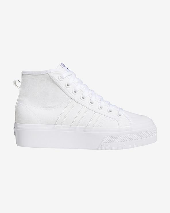adidas Originals Nizza Tennisschuhe Weiß