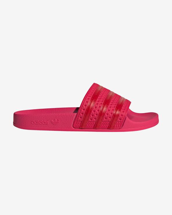 adidas Originals Adilette Pantoffeln Rot Rosa