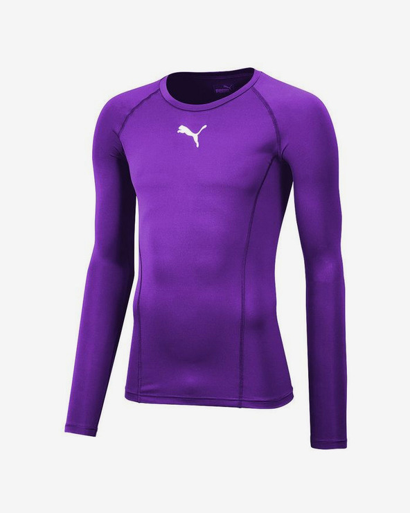 Puma Liga Baselayer T-Shirt Lila