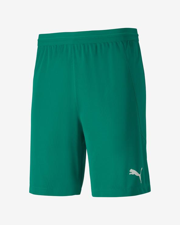 Puma teamFINAL 21 Pantaloni scurți Verde