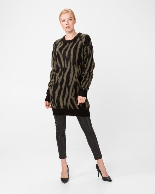 GAS Klizia Zebra Pullover Schwarz Grün