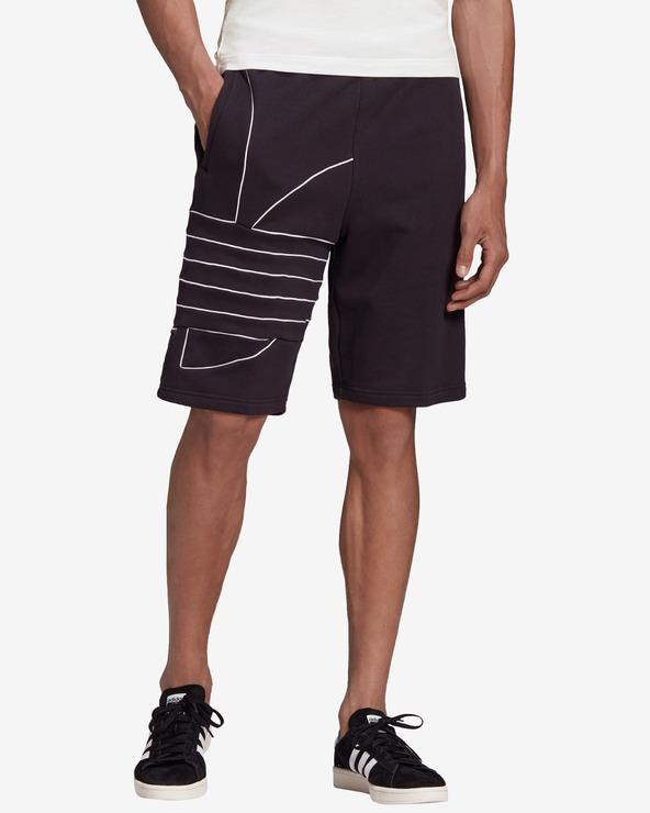 adidas Originals Big Trefoil Shorts Schwarz