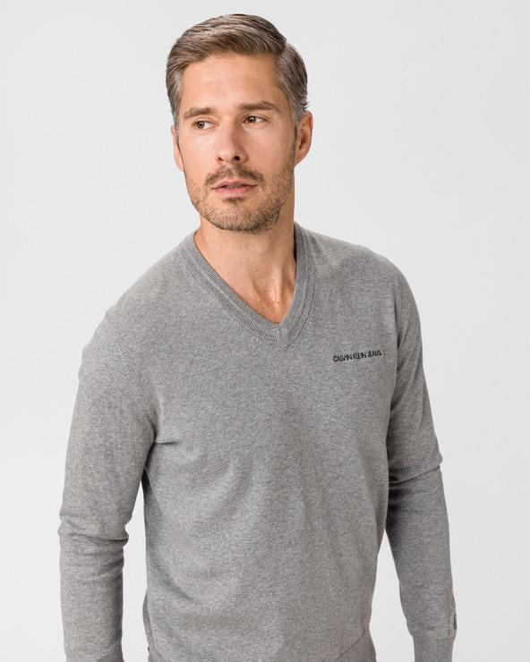 Calvin Klein Essential Pullover Grau