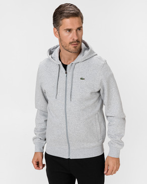 Lacoste Sport Hooded Lightweight Bi-material Mikina
