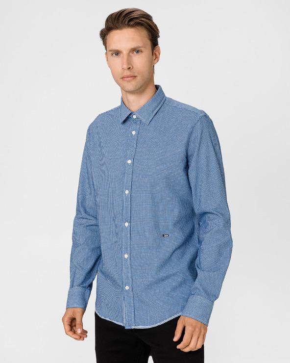 GAS Kins/S Tape Hemd Blau