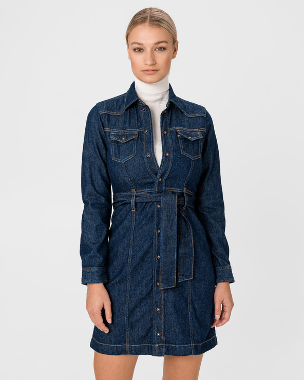 Pepe Jeans Julie Kleid Blau