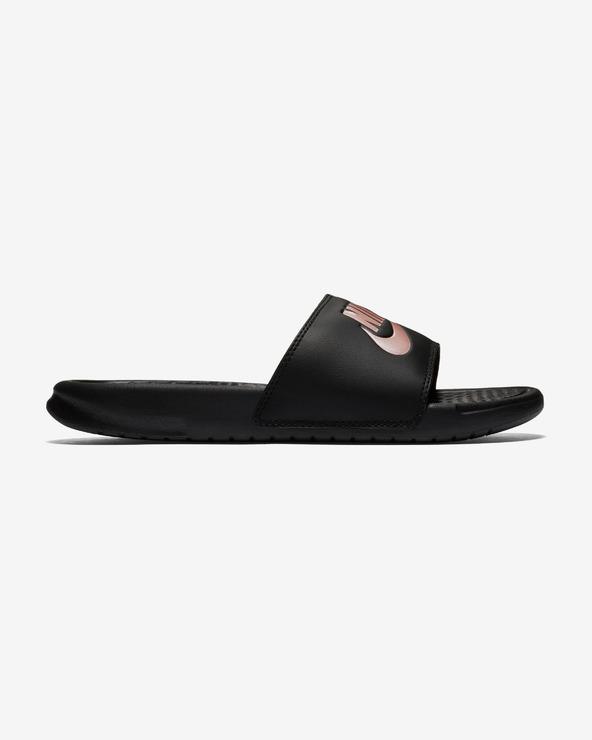 Nike Benassi JDI Pantoffeln Schwarz
