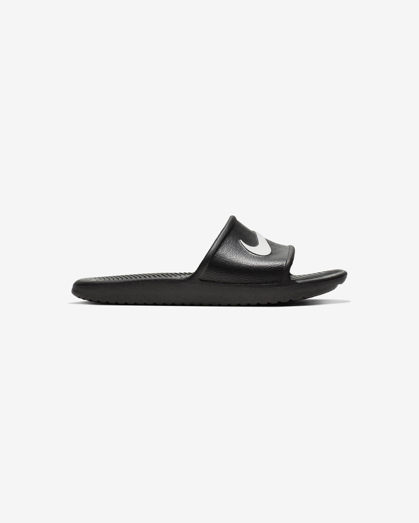 Nike Kawa Children's slippers Schwarz