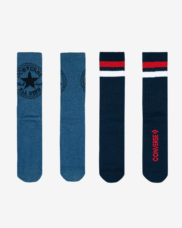 Converse Socken 2 Paar Blau