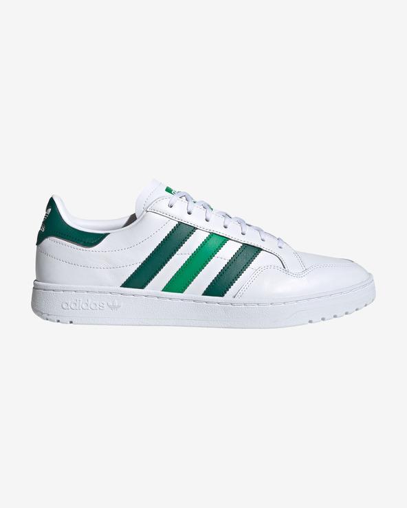 adidas Originals Team Court Tennisschuhe Grün Weiß