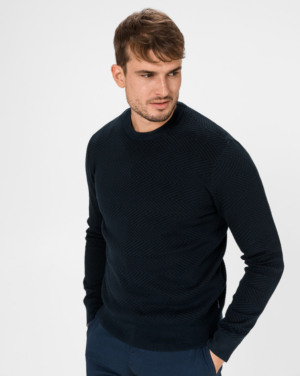 Armani Exchange Pullover Blau