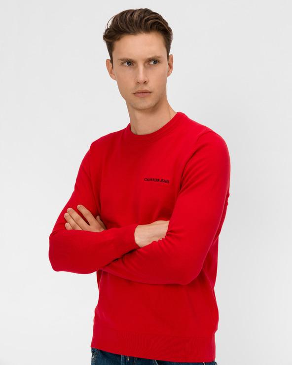 Calvin Klein Essential Pullover Rot