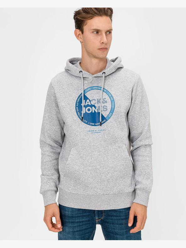 Jack & Jones Lambo Sweatshirt Grau