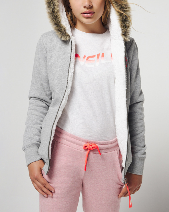 O'Neill Anisa Superfleece Sweatshirt Kinder Grau