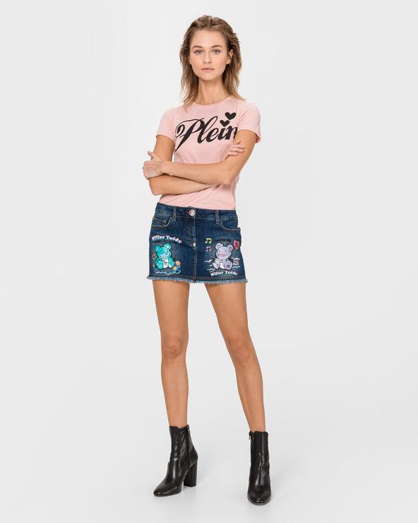 Philipp Plein Bonita Skirt Blau