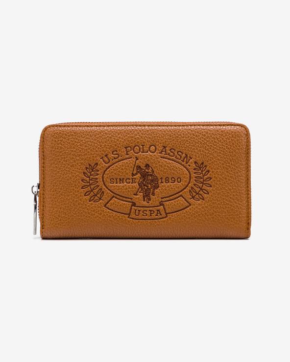 U.S. Polo Assn Hailey Geldbörse Braun