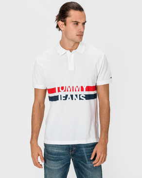 Tommy Jeans Block Stripe Polo triko