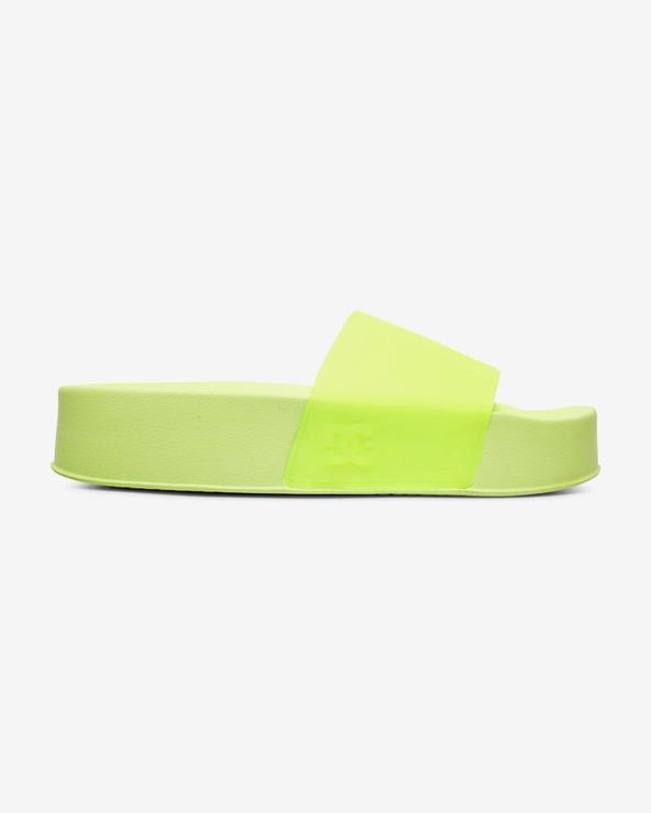 DC Pantoffeln Grün Gelb