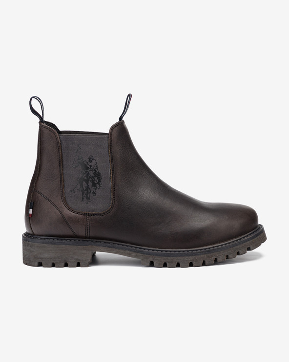 U.S. Polo Assn Alton Leather Stiefeletten Schwarz