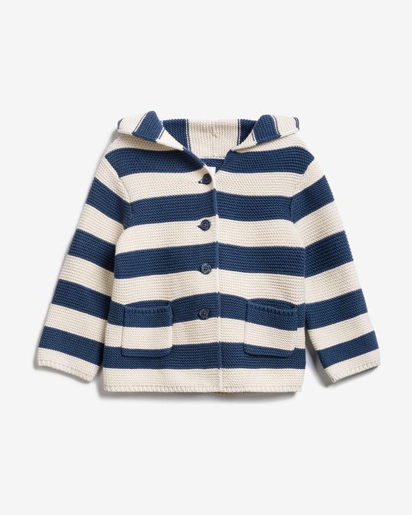 GAP Kinder Pullover Blau Weiß