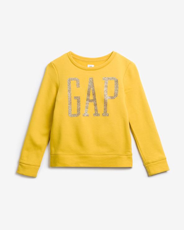 GAP Sweatshirt Kinder Gelb