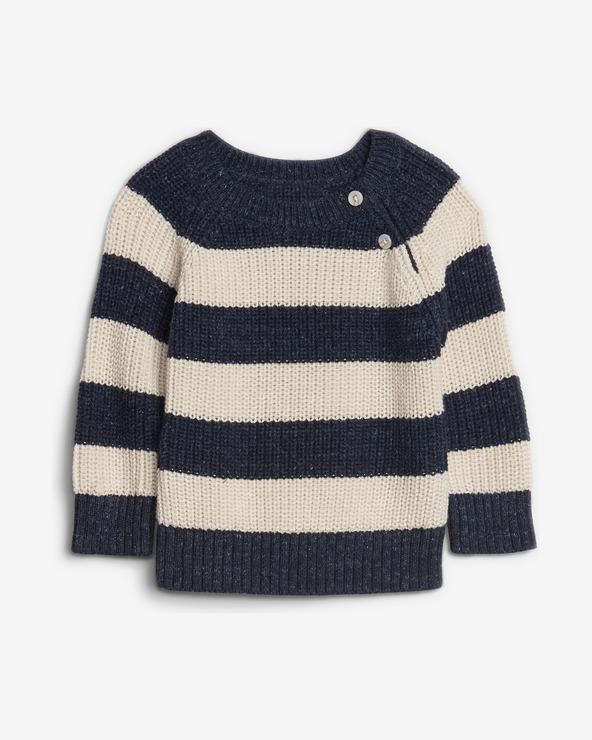 GAP Kinder Pullover Blau Beige