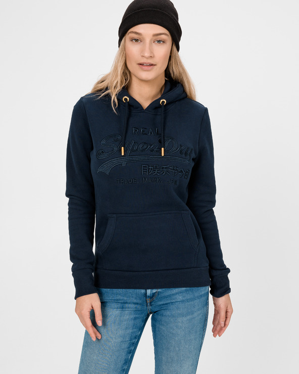 SuperDry Sweatshirt Blau