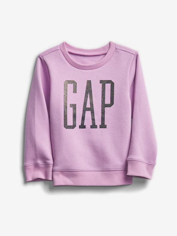 GAP Sweatshirt Kinder Lila