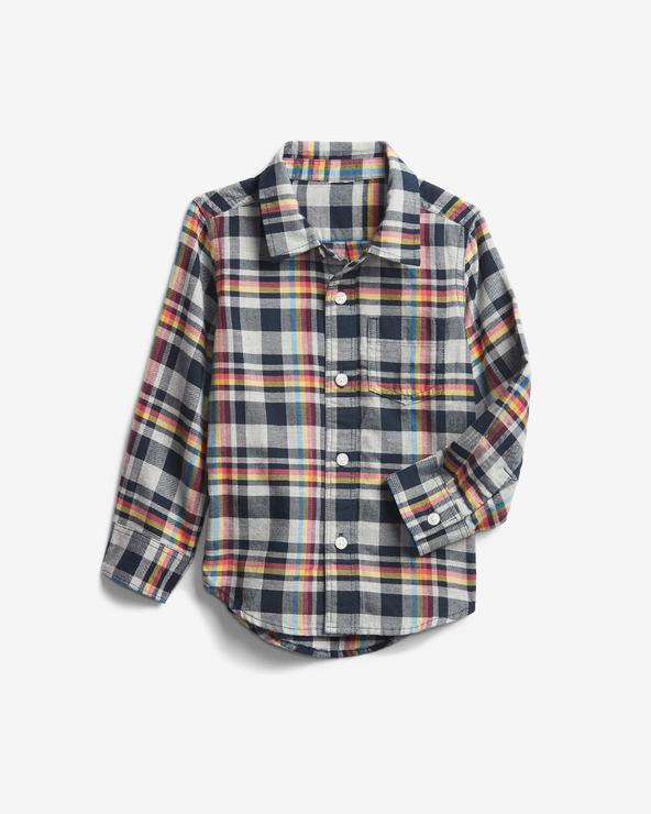 GAP Hemd Kinder Grau Orange