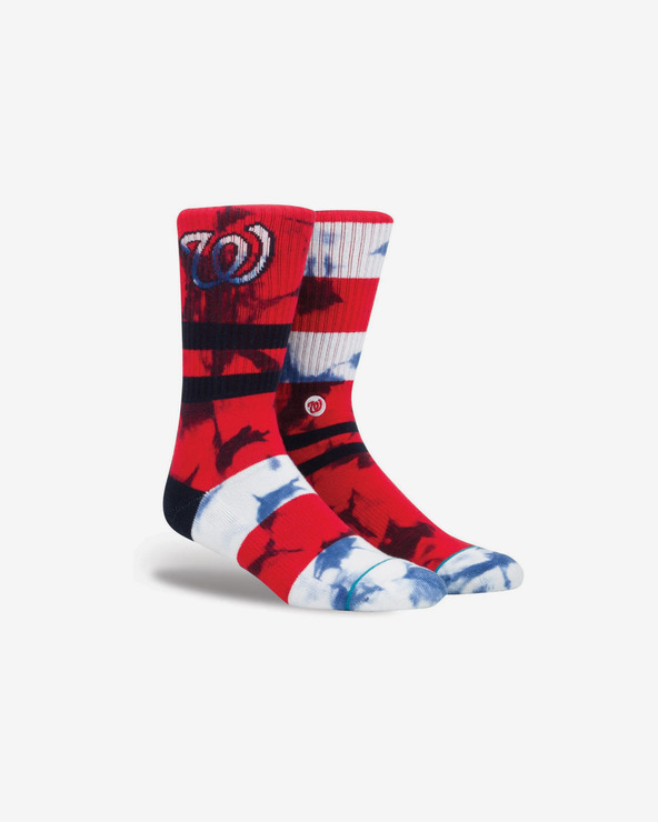 Stance Nats Socken Rot